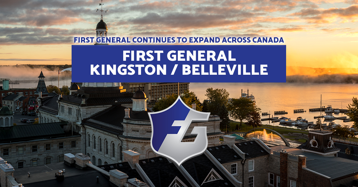 first general kingston Canadian damage restoration