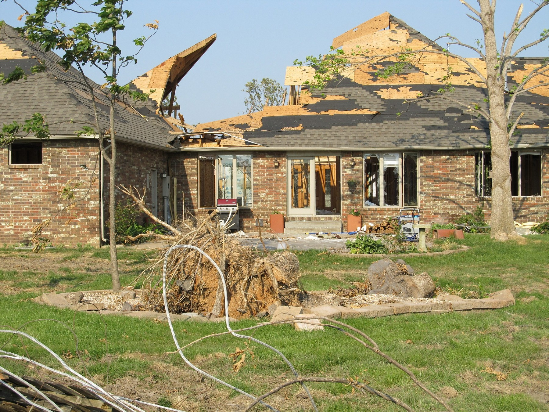Tornado Damaged Home