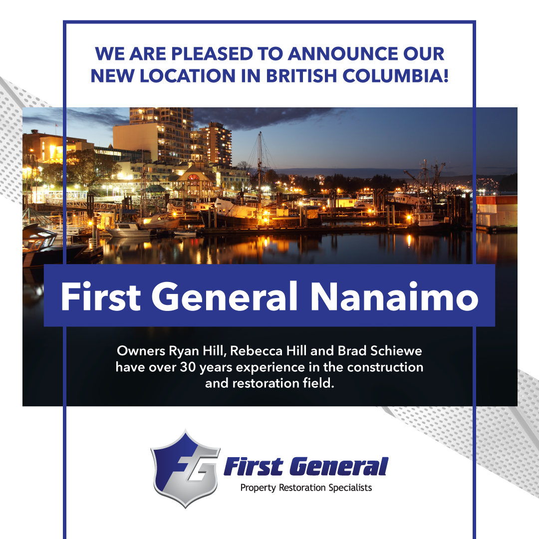 New First General in Nanaimo, BC!